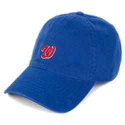 BG284CAP509_WSCRIPT WASHING CAP-BLUE(NEWZ1UL31A)