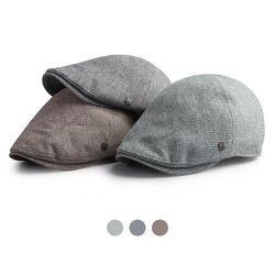 [디꾸보]뉴스보이 잔체크 헌팅캡 모자 HN722