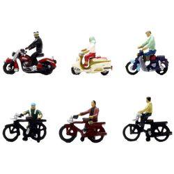 [31381-정경소물 116-2] 오토바이 자전거 2 (N게이지)