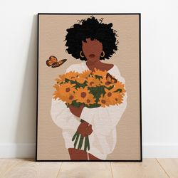 명화그리기 나비와 꽃다발 캔버스페인팅 DIY 유화그림