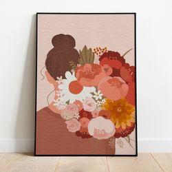 명화그리기 꽃다발 한아름 캔버스페인팅 DIY 유화그림