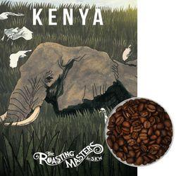 산미커피 케냐AA 오타야 맛있는 원두커피 홀빈 커피가루 500g