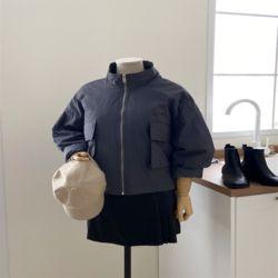 여자 가을 차이나 포켓 포인트 색감좋은 데일리 자켓