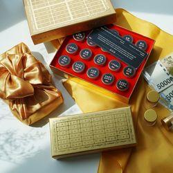 황금 돈진단 10구+보자기 용돈 박스 돈 선물 상자