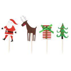 크리스마스 산타마을 데코픽 24개 (1set)