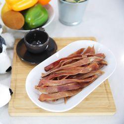 국산 강아지간식 펫나라 돼지귀슬라이스 250g