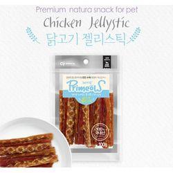 강아지간식 프리미요 닭고기 젤리스틱 100g 3개