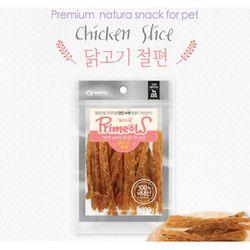 강아지간식 프리미요 수제간식 닭고기 절편 100g 3개