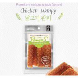 강아지간식 프리미요 수제간식 닭고기 완피 100g 3개