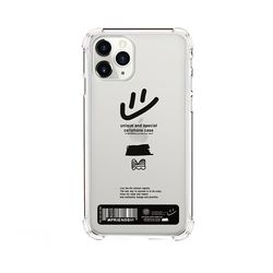 case 484-unique tape m-bumper clear