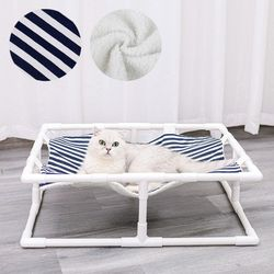 라이프공방 망부석애완동물해먹 애견침대 고양이 쿠션
