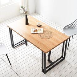1500 코디 식탁 4인용 철제 테이블
