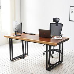 1800x600 코디 우드슬랩 책상 원목 테이블