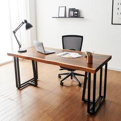 1800x800 코디 우드슬랩 책상 원목 테이블