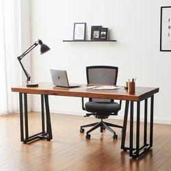 2000x800 코디 우드슬랩 책상 원목 테이블