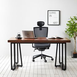 1400x600 코디 우드슬랩 책상 원목 테이블