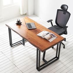 1600x600 코디 우드슬랩 책상 원목 테이블