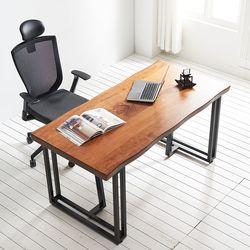 1400x800 코디 우드슬랩 책상 원목 테이블