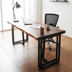 1600x800 코디 우드슬랩 책상 원목 테이블