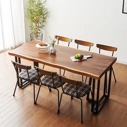 2000x800 코디 우드슬랩 식탁 8인용 테이블