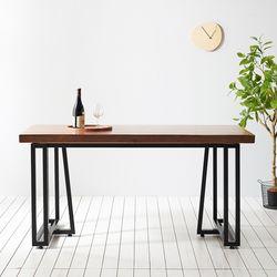 1400x600 코디 우드슬랩 식탁 4인용 테이블