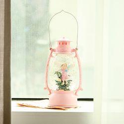 핑크 요정 랜턴 LED 오르골 무드등 조카 생일 선물