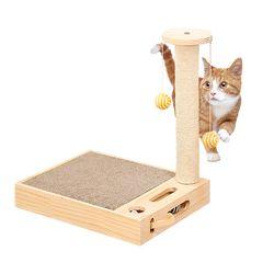 캣톡 고양이 장난감 겸용 스크래쳐 기둥형 캣펀치 쥐잡기 놀이