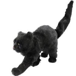 리얼 고양이 모형 장식 데코 70cm
