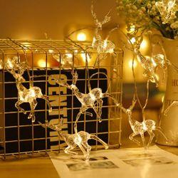 크리스마스 루돌프 LED 조명 가랜드