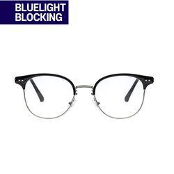 RECLOW E383 BLACK GLASS 청광 VER 안경(ITEMN86YMB5)