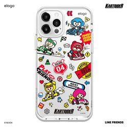 엘라고 카트라이더 아이폰12/12프로 케이스 -RACING