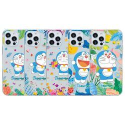 도라에몽 플라워 클리어케이스 아이폰13 Pro