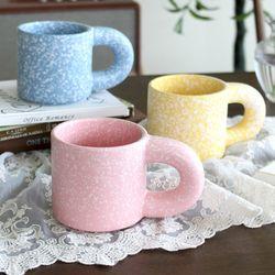 레트로 마블 머그컵 (3colors)