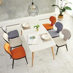 코니시 통세라믹 6인 식탁 세트(일반형)