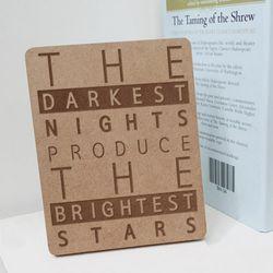td740-각인액자어두울때밝은별