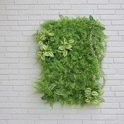 달개비 그린 장식 잔디 조화매트