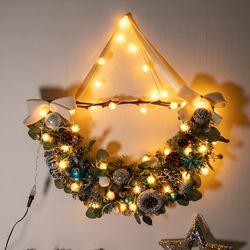 LED 티피니가렌드 70cmP 크리스마스 장식 소품 TRWGHM