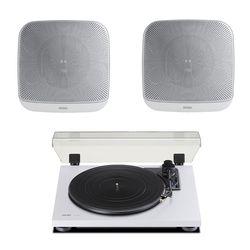 턴테이블 TN-180BT special WHITE + Enzer EN-WM5 2개 극동정품