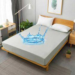 피칸데코 방수매트리스커버 그레이 K 160x200cm 1장 물세탁가능