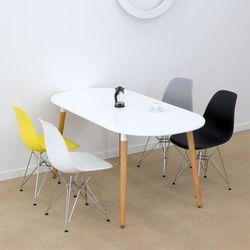 어라운드 타원형 테이블 1600