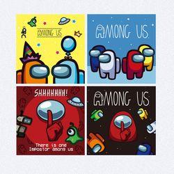 어몽어스 캐릭터 DIY 그리기 컬러링키트 RAINBOW 시리즈