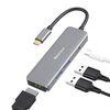 얼리봇 SGUC-102 USB C타입 멀티 포트 허브 4in1