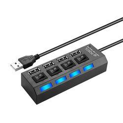 얼리봇 LHV-200 USB 허브 4포트 유전원 아답터 포함
