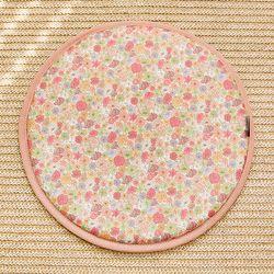 세잔느 논슬립 원형방석 03 라우라 핑크 37cmx37cm (6color)