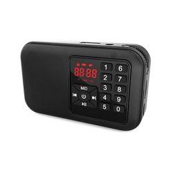 얼리봇 LHV700 휴대용 스피커 등산용 효도 FM  라디오