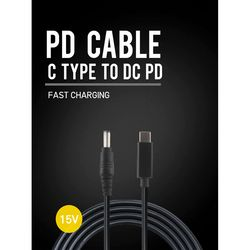 USB PD C to DC 45W 고속충전케이블