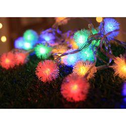 LED 40구 눈송이 가랜드 전구 크리스마스트리조명