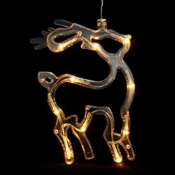 감성 행잉 LED 장식전구(사슴) 줄조명 연말파티용품