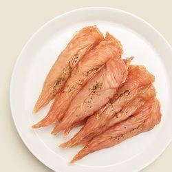 리얼져키 무항생제 닭안심 육포 강아지수제간식 져키