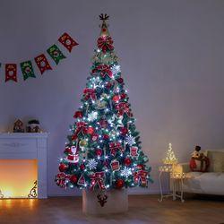 240cm 판타지아 완제 트리(전구포함) 크리스마스트리